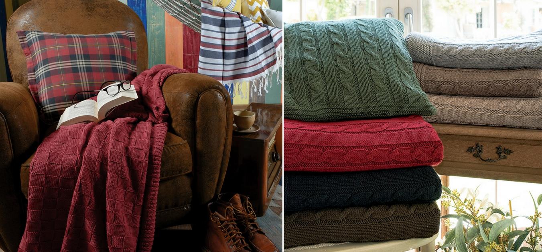 Battaniyeler şimdi daha renkli, daha sıcak!